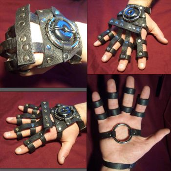 Arcanepunk: Shock Gauntlet by TormentedArtifacts