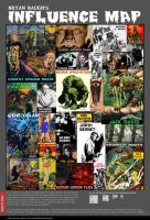 My Influence Map by BryanBaugh