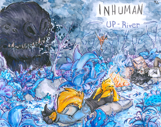 inhuman arc 15 cover art -complete- by not-fun