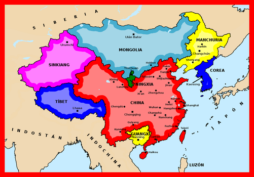 Alternative China and Korea by matritum