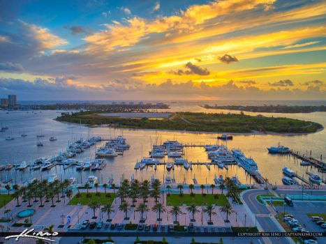 Sunrise-Riviera-Beach-Marina-Peanut-Island-Palm-Be by CaptainKimo