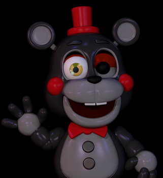 Little Lefty by luizcrafted