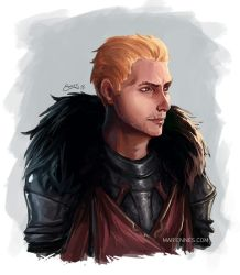 Fanart - Cullen Rutherford by MarianaEnnes
