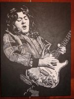 Rory  Gallagher and his 61' strat! (sold) by ennersemporium