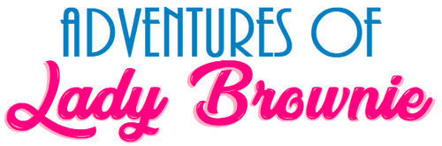Adventures of Lady Brownie logo by terryrule17