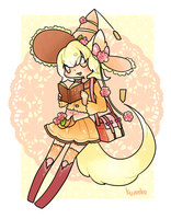 Back to School Prize - Honey Rose Tea by kuroeko-adopts