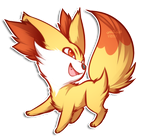:: Fennekin, I choose you! :: by Vienix