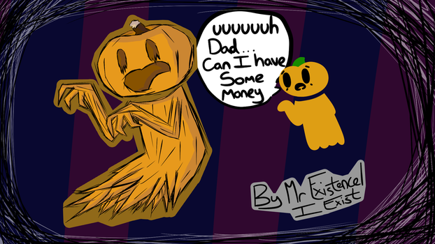 Pumpkins Dad by I--Exist