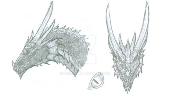 Zhyx head details by OmegaZilla