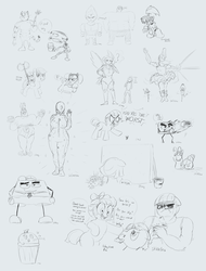 Art Stream #4 Sketch Collection by baratus93
