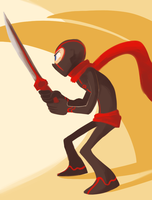 The Ninja by CrescentMarionette