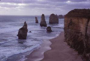12 apostles. Yes, back when there were 12. 1984 by otherunicorn-stock