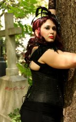 Cemetary session pt. 1 by SymphonicA19