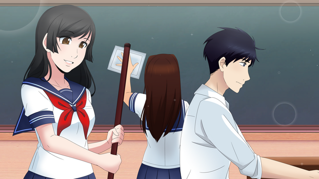 Classroom Wallpaper by MulberryDreamer