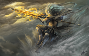 Dark Souls lll Fanart : Nameless King by truejjack