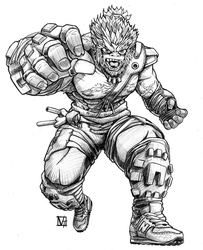 Beast Man with Sneaker Armor by SHADOBOXXER