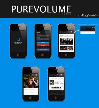 Purevolume Concept by MayElectric