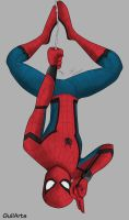 Spiderman Comehoming by Guilarts