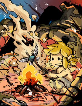 LoZ Breath of the Wild - Cooking Navi by caycowa