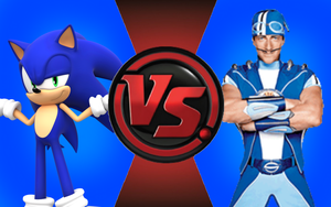 CFC|Game Sonic vs. Sportacus by Vex2001