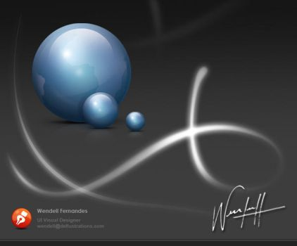sphere Icon by dellustrations