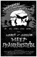 Abbott Costello Frankenstein by 4gottenlore