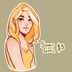 { CLOSED } Yellow Gay Summer Gorl by R0BUTT