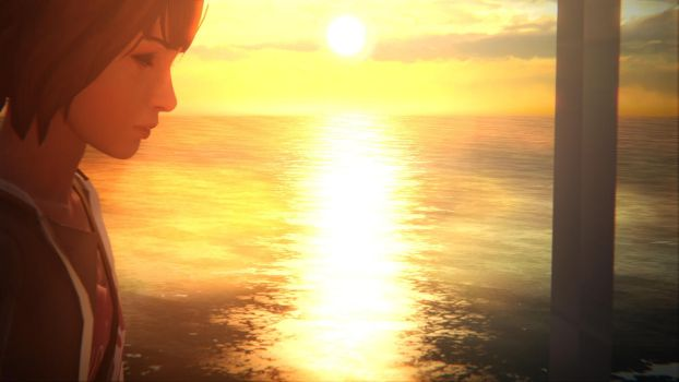 LIS Contemplative Max - A stroll by the lighthouse by supergoal