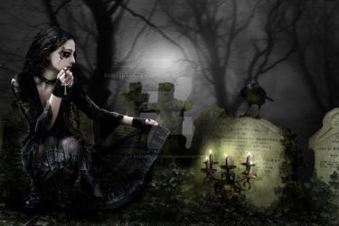 The Graveyard by babsartcreations