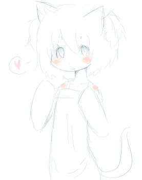 New drawing style practice by ChibiKamaRin