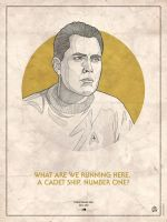 Star Trek Captains - Christopher Pike by RUGIDOart