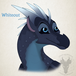 WoF H-a-D Day 36 - Whiteout by xTheDragonRebornx