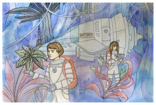 Space travel by Wilentsia