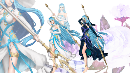 Fire Emblem Warriors and if - Aqua - Default by shreis