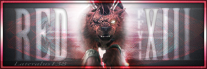 Red XIII FFVII Series V1 by Lateralus138