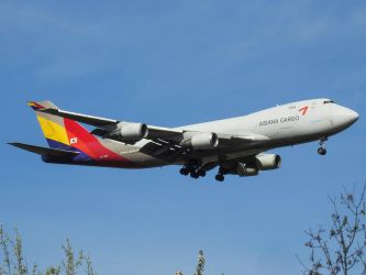 HL7420 - Boeing 747-48EF(SCD) - Asiana Airlines by hadesdras91