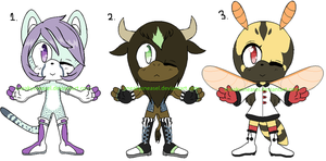 [CLOSED] Chibi Sonic Adopts by SneakySneasel