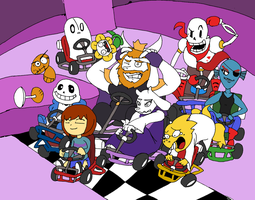 Undertale Kart by that-one-guy-again