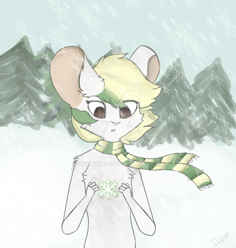 Special snowflake by WolfAika