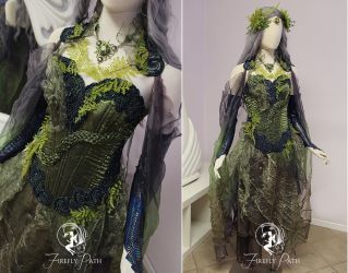Forest Serpent Gown by Firefly-Path