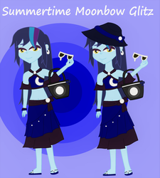 Equestria Kids NG - Sunmmertime Moonbow Glitz by MiraculousLover22