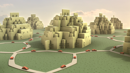 Fractal Traffic Regulations by hypex2772