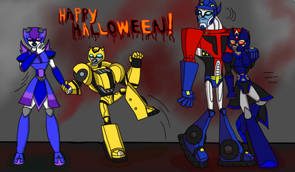 Happy Halloween 2018 by DominotheFembot
