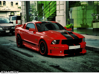 Ford Mustang GT500 by KINGTEAM