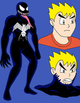 Venom The Vengeful Symbiote by streetgals9000 by JQroxks21