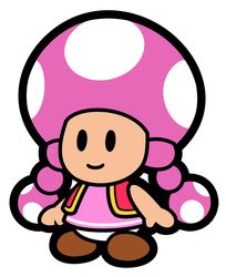 Paper Toadette Vector by GreenMachine987