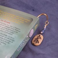 Floral Glyphed Bookmark by ErrantDreams