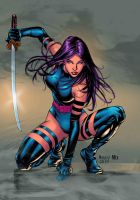 PSYLOCKE by MixGray