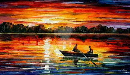 Remarkable Moment by Leonid Afremov by Leonidafremov