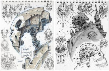 Sketches from NY by Axel13-Gallery